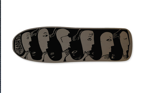"NEW! Modified 80's - Neil Blender ""Faces"" - 2 Tone Charcoal/Black"