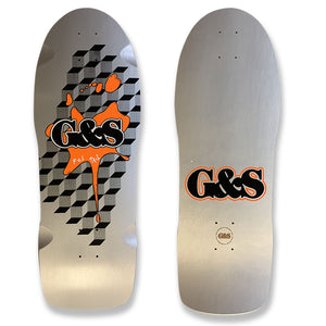 G&S FoilTail Reissue - Silver/Orange Splat