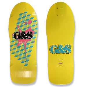 G&S FoilTail Reissue - Yellow/Pink Splat