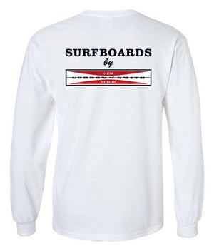 Original Logo Long Sleeved Tshirt - White