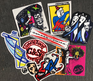G&S / Neil Blender Art Sticker Pack- 8 pc
