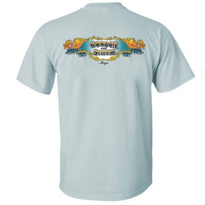 G&S Magic logo short sleeved T-shirt - light blue