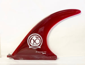 "60th Anniversary 9"" HY-Performance Fin- Red"