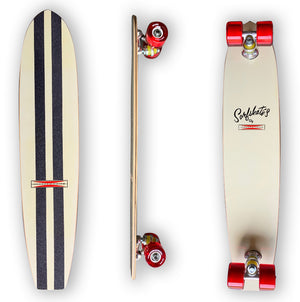 G&S modified 60's SurfSkate- Vintage White