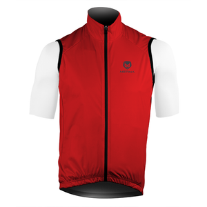 S100 Cycling Gilet Rosso