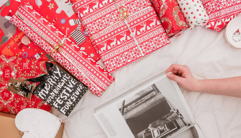 Christmas gifts on bed gifting industry