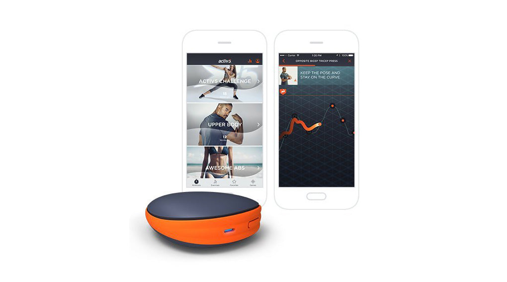 #2 cool tech gadgets for men: Portable Strength Training Device & Coaching App
