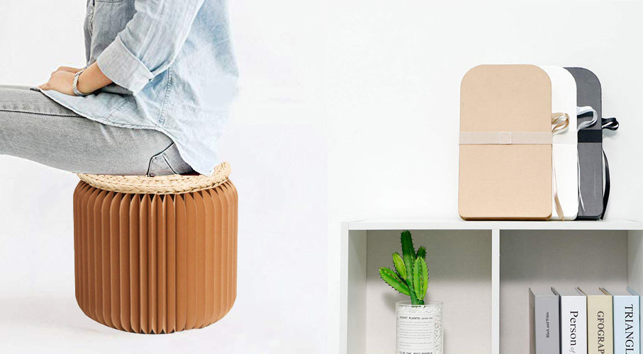 #4 gifts for boyfriends mom: paper stool chair