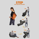 air lounger setup steps