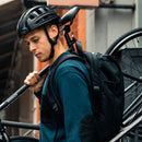 Folding Bike Helmet lifestyle carrying bike