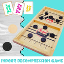 ice hockey battle table game indoor decompression game