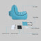 air lounger in the box infographic