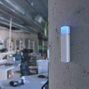 Luxafor Bluetooth Wireless LED Status Indicator attached on the wall lifestyle