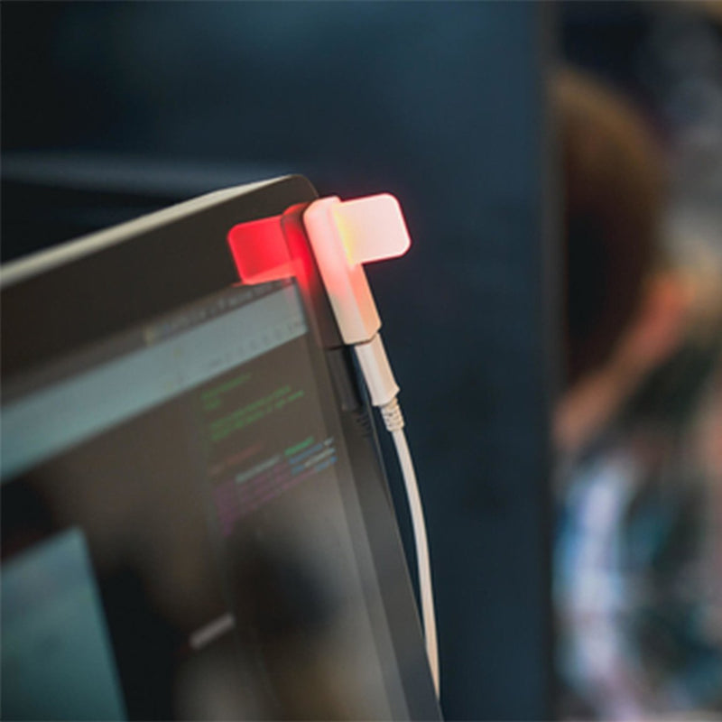 Luxafor Flag USB LED Status Indicator busy red light lifestyle