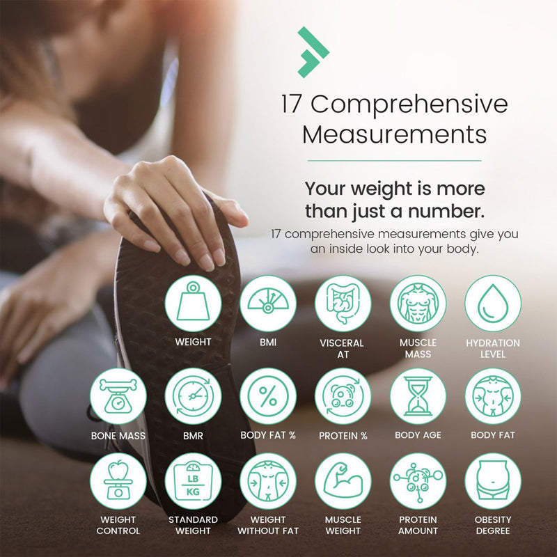 Smart Body BMI Scale 17 comprehensive measurements