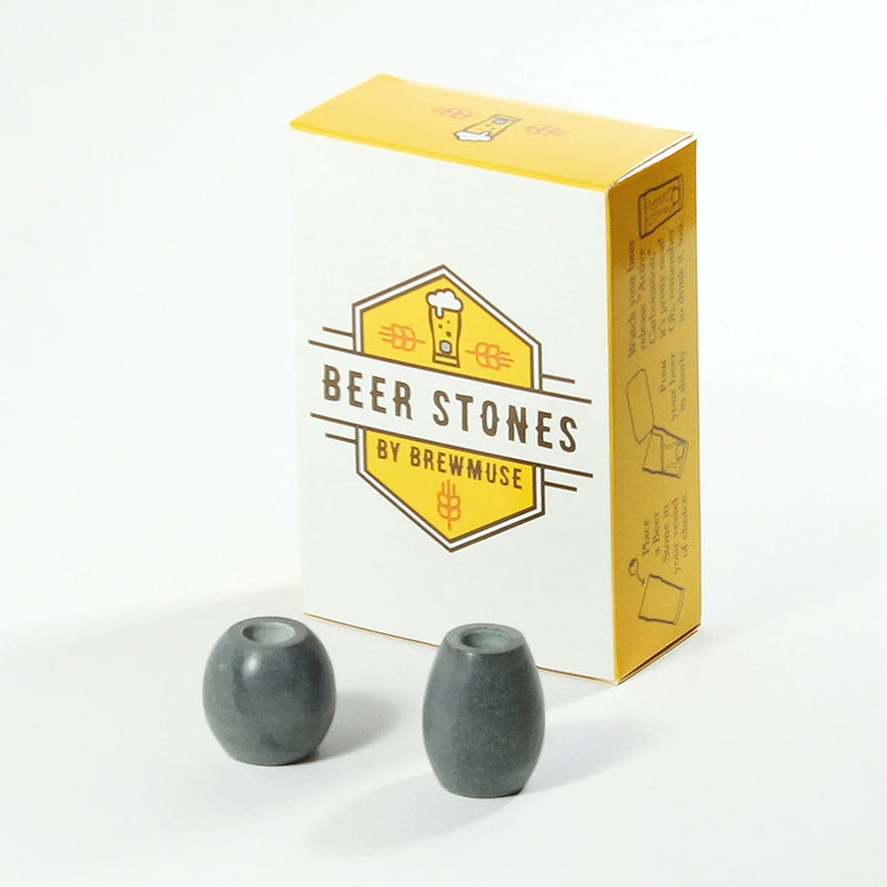 Beer Foaming Stones in the box