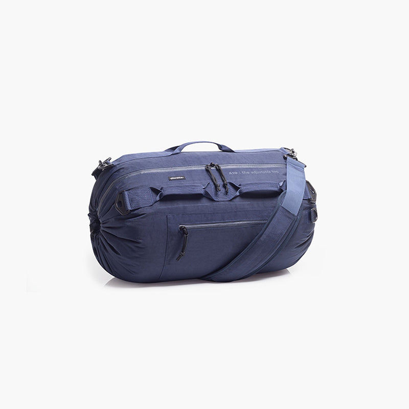 Collapsible luggage blue backapck