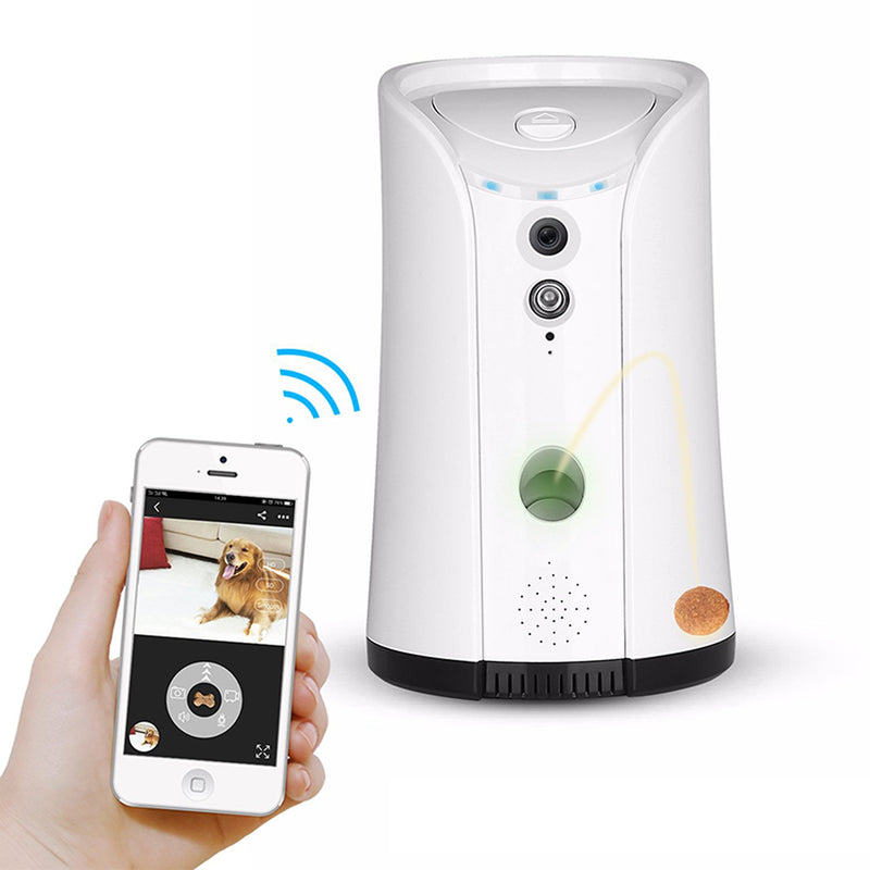 Pet Treat Dispenser & Camera