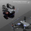 Foldable Wifi Drone Camera 3D foldable designe