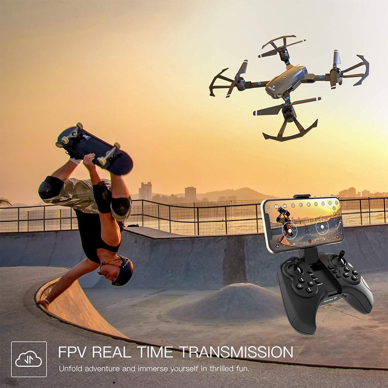 Foldable Wifi Drone Camera FPV real time transmission
