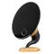 gramophone bluetooth speaker oak main image
