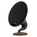 gramophone bluetooth speaker walnut main image