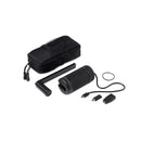 hand crank charger black components