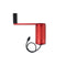 hand crank charger main image red