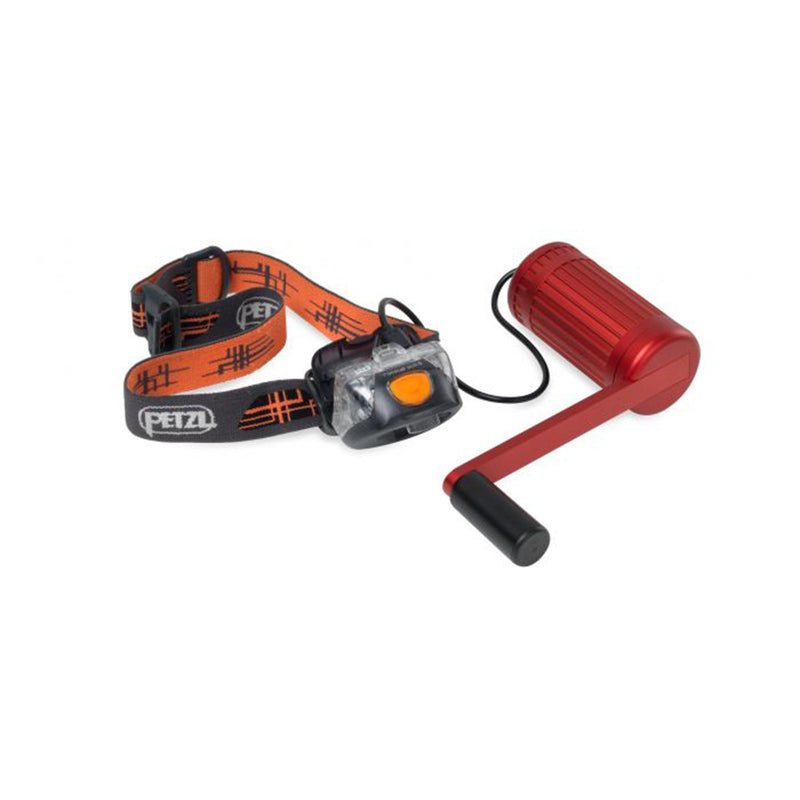 hand crank charger red charging head lights