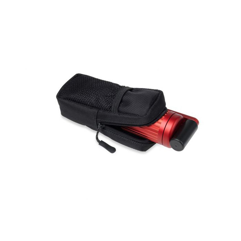 hand crank charger  red in case