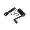 hand crank charger black charging flash light