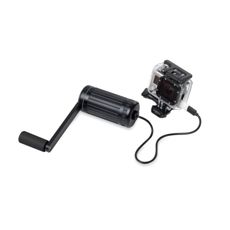 hand crank charger charging go pro