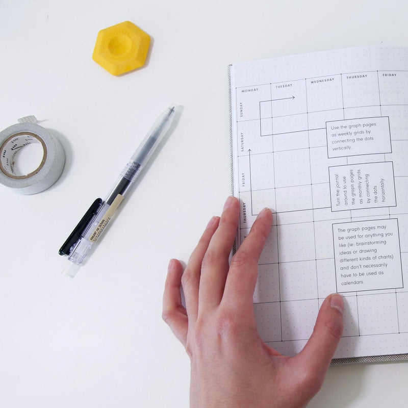 high performance planner dotted pages