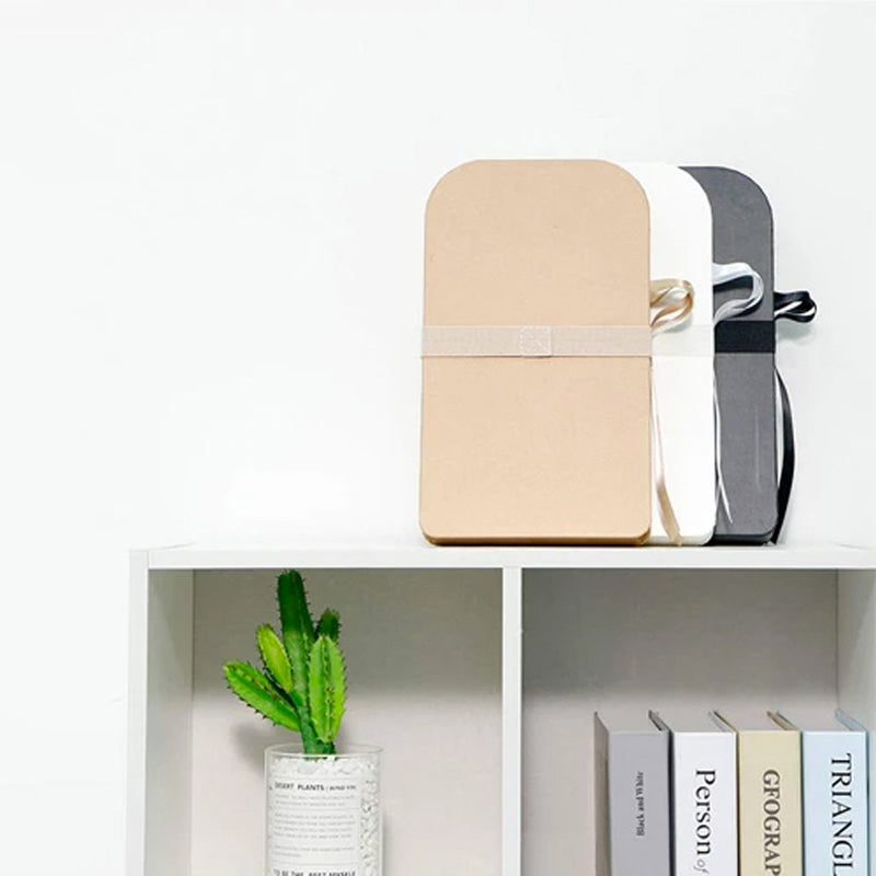 paper stool chair lifestyle on a shelf