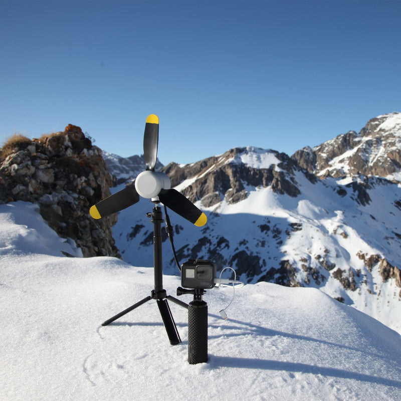 portable wind turbine lifestyle winter