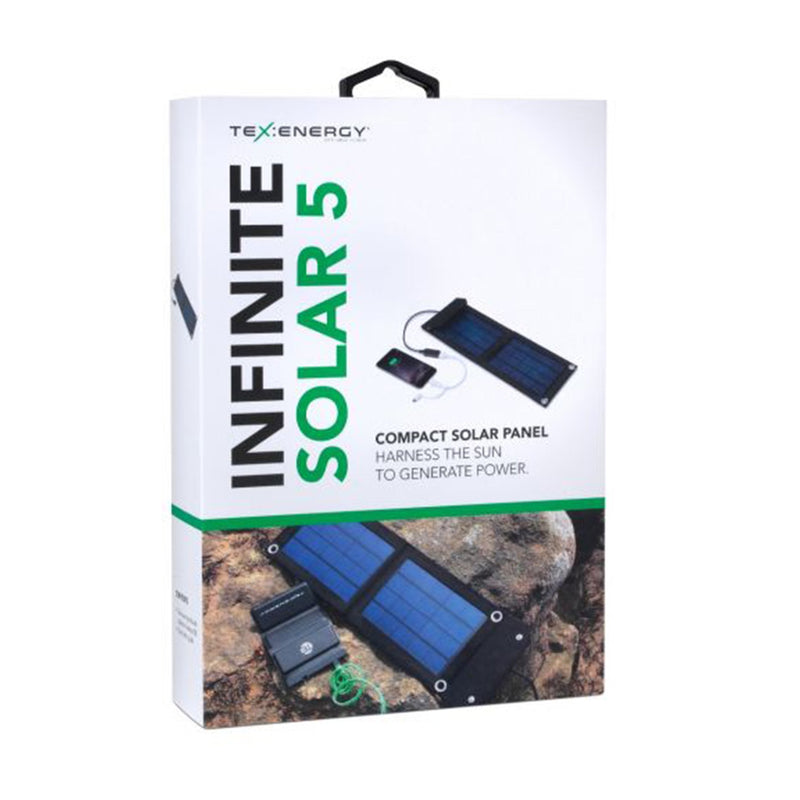 portable solar panel in the box