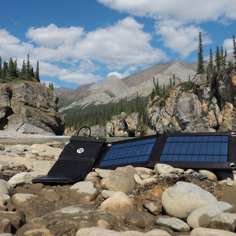 portable solar panel lifestyle charging
