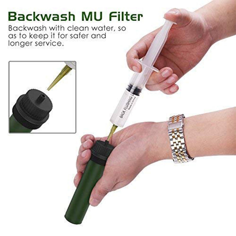 Portable Water Filter backwash MU filter