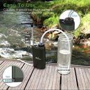 Portable Water Filter easy to use lifestyle