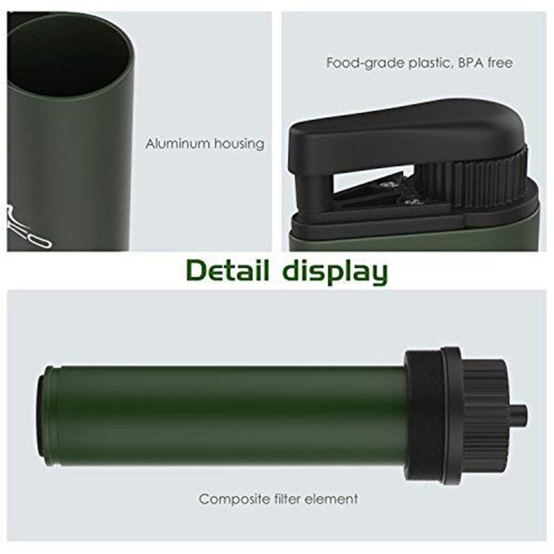 Portable Water Filter detail display