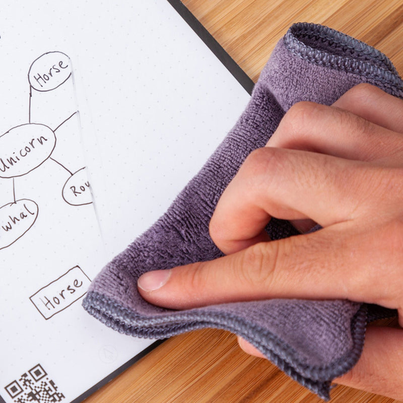 reusable notebook washable cloth