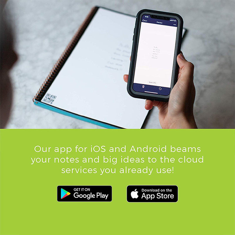 reusable notebook phone app