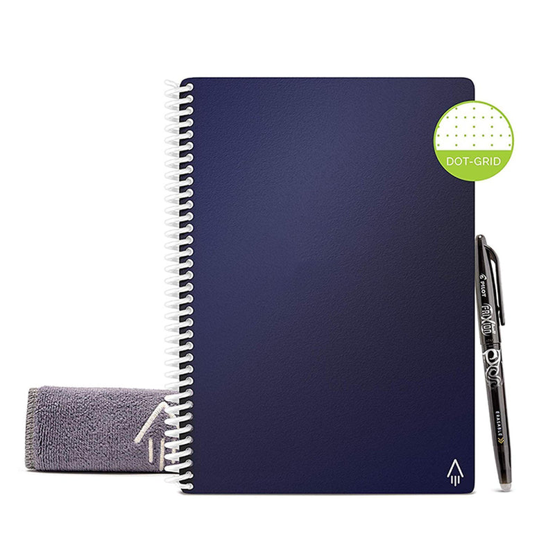 reusable notebook midnight blue