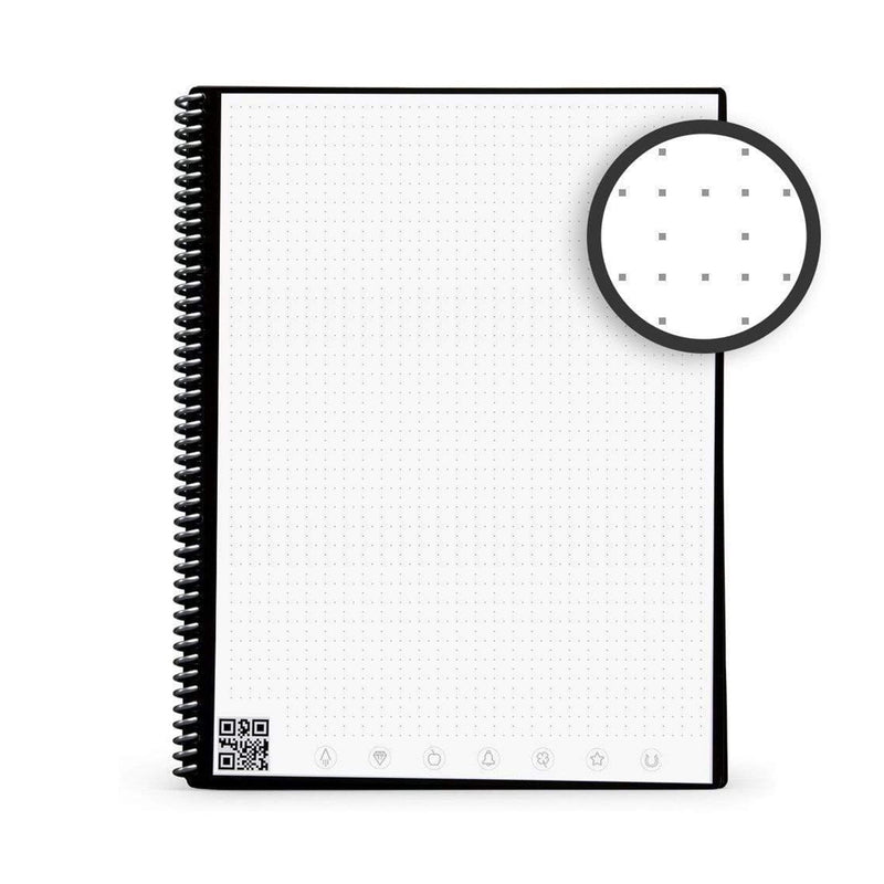 reusable notebook dotted page
