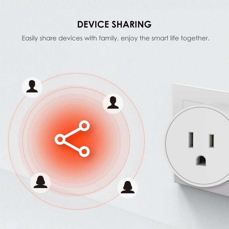 Smart Plug device sharing infographic