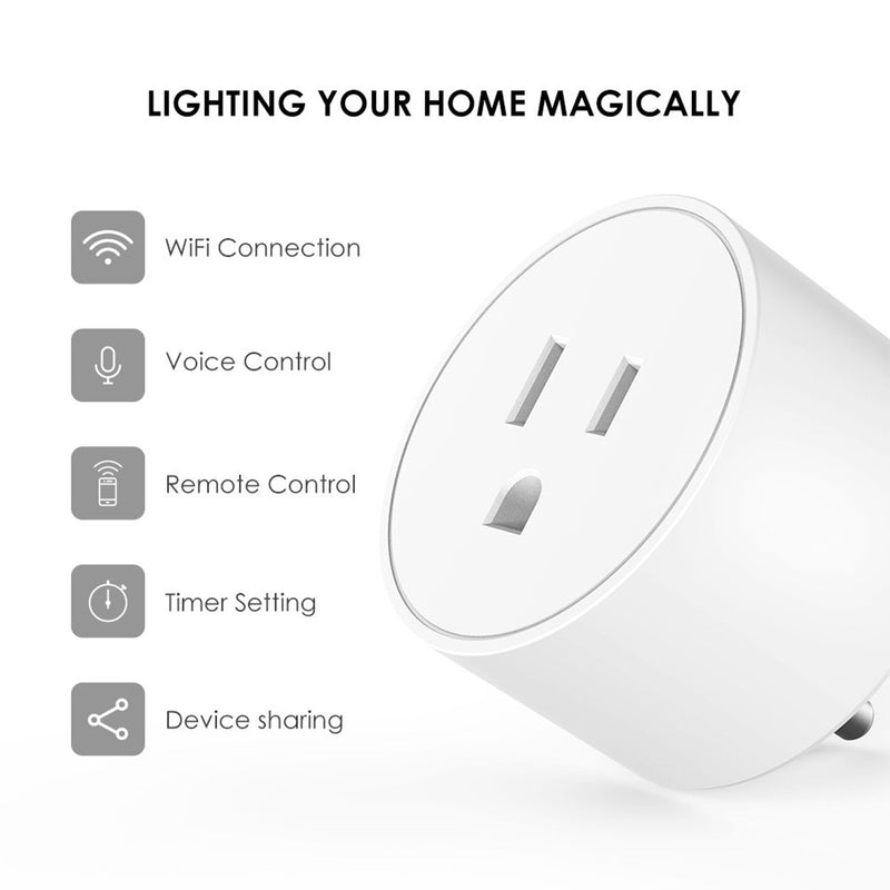 Smart Plug features infographic