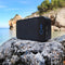 solar bluetooth speaker lifestyle on the beach