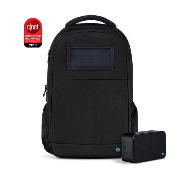 solar powered backpack main image