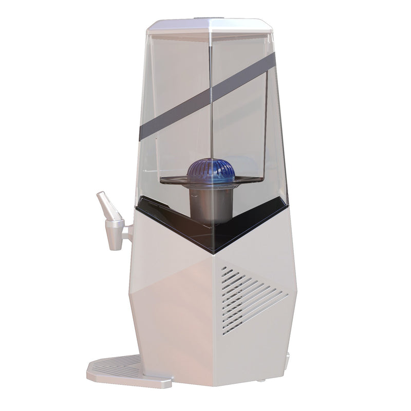 Water Cooler & Filter side view