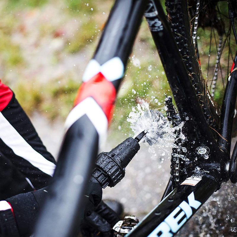 wheel cleaning brush cleaning bike lifestyle